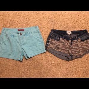 Lot of two size 8 shorts